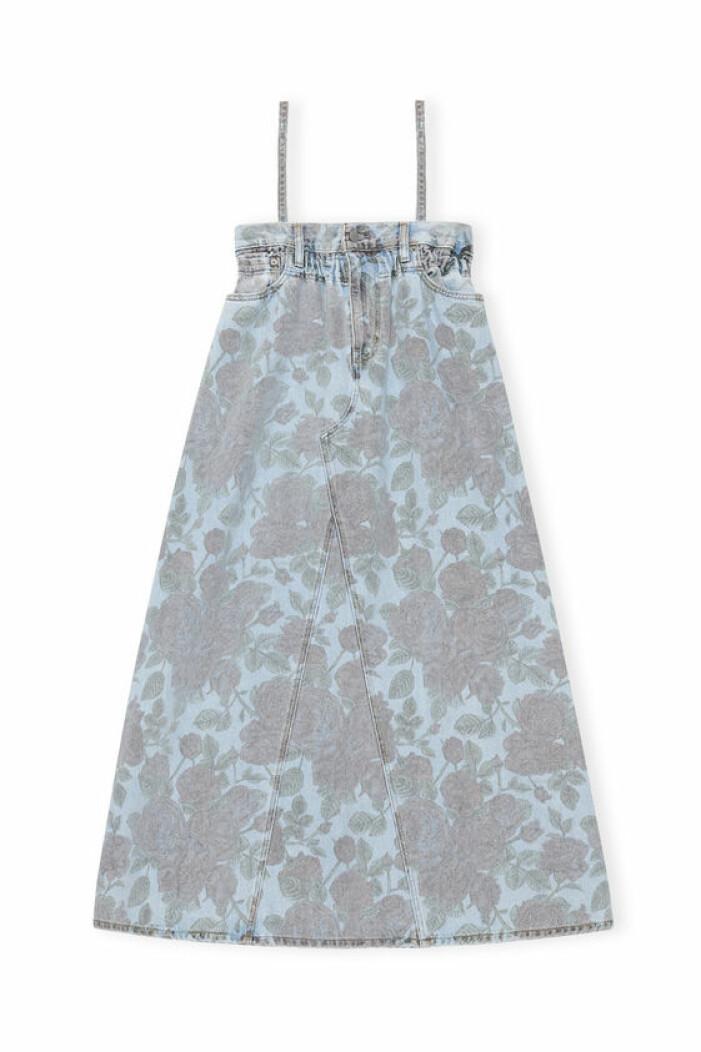 ganni x levis print klänning