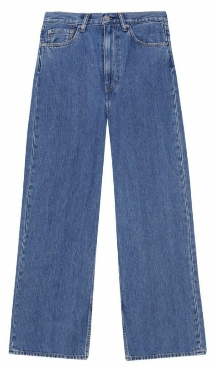 ganni x levis jeans
