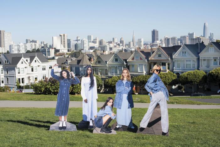 Ganni x Levis San Franscico