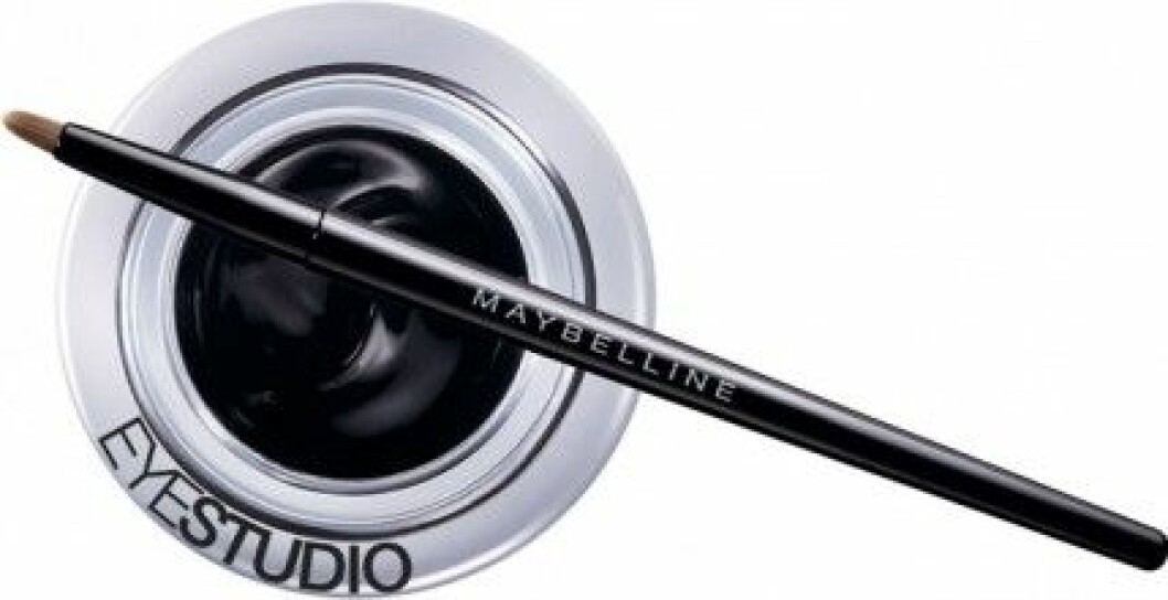 Gel Eye Liner black från Maybelline, 119 kr.