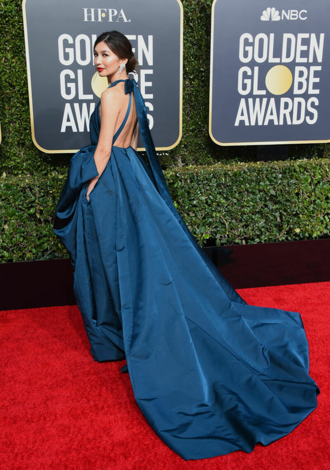 Gemma Chan Golden Globe 2019