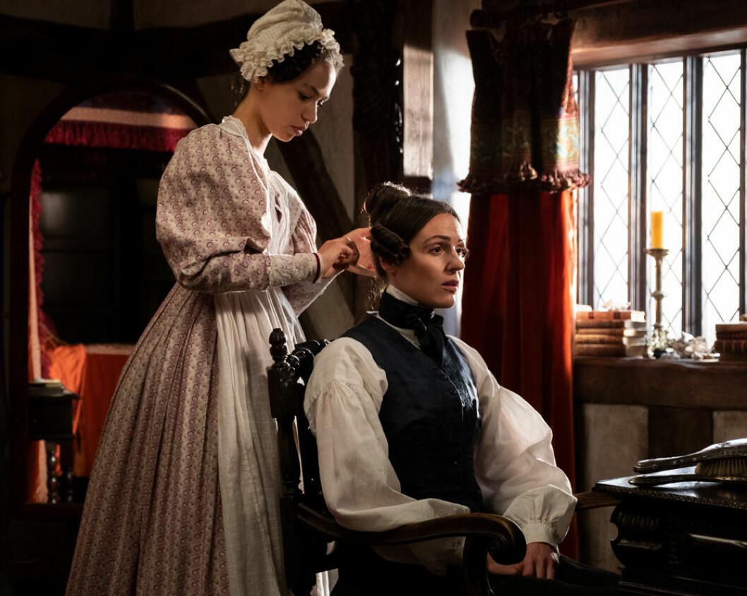 Anne Lister i Gentleman Jack.