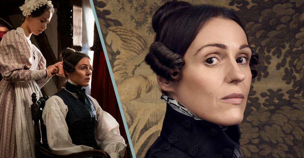 Suranne Jones spelar Anne Lister i serien Gentleman Jack.
