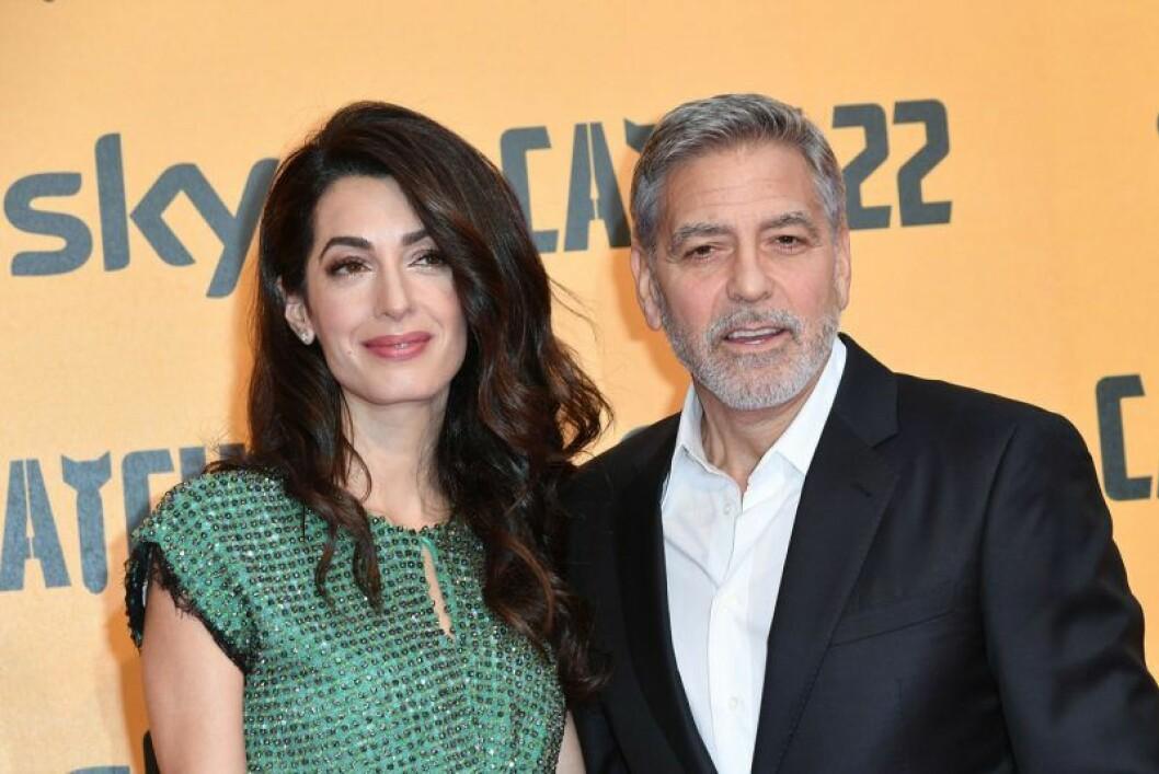 Åldersskillnad mellan George Clooney och Amal Alamuddin