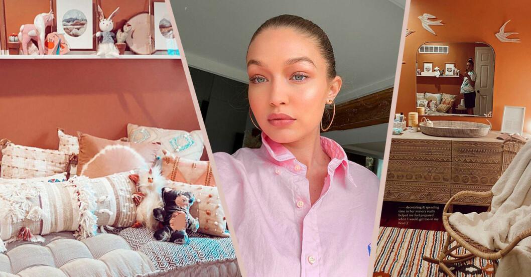 Gigi och bilder från rummet