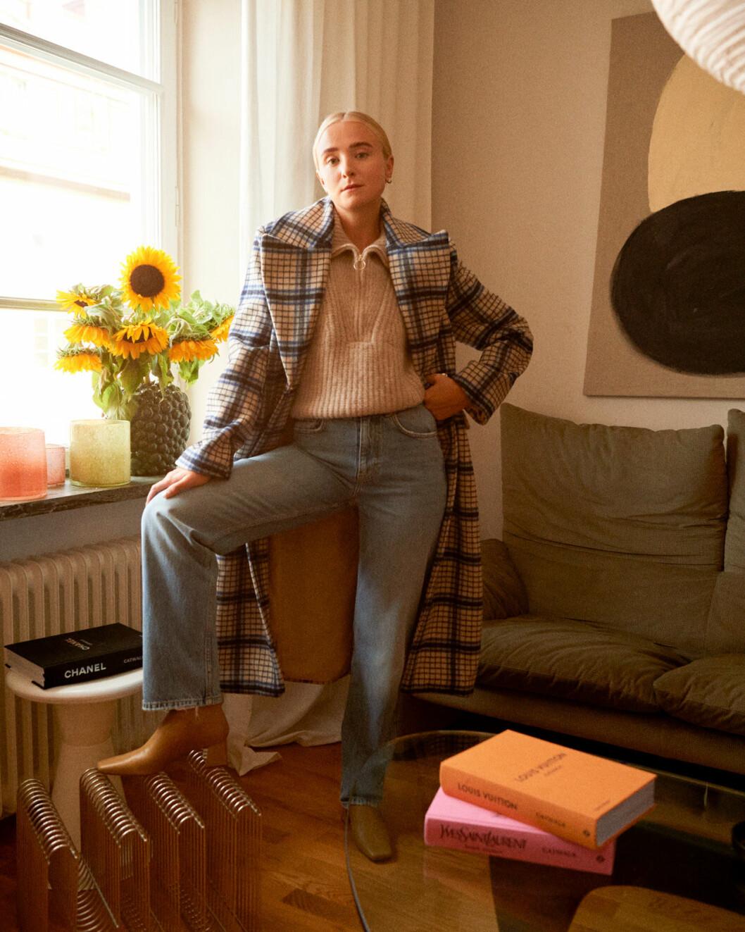 Fanny Ekstrand visar både mode och inredningsnyheter.