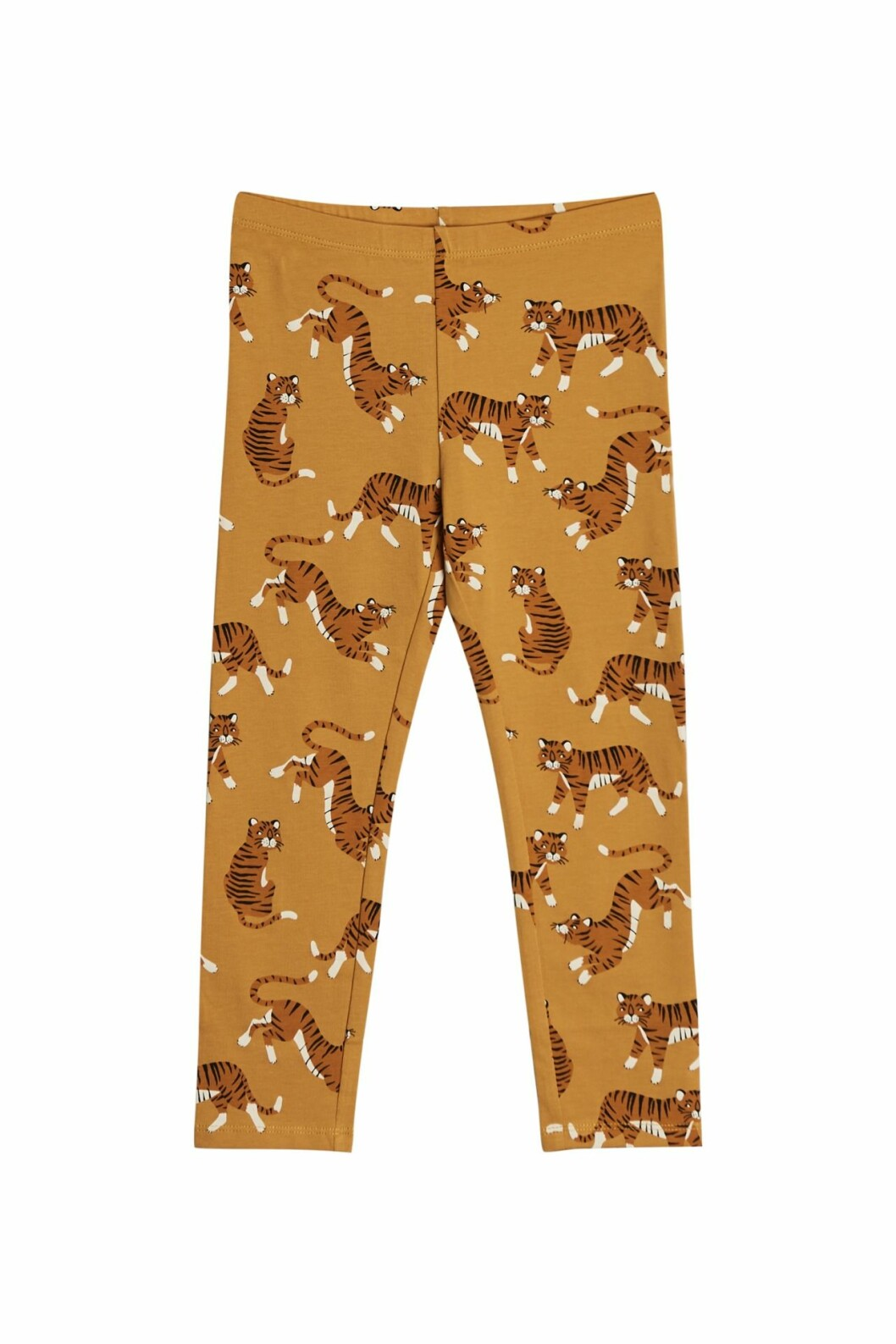 Gina tricot mini barnkollektion leggings gula