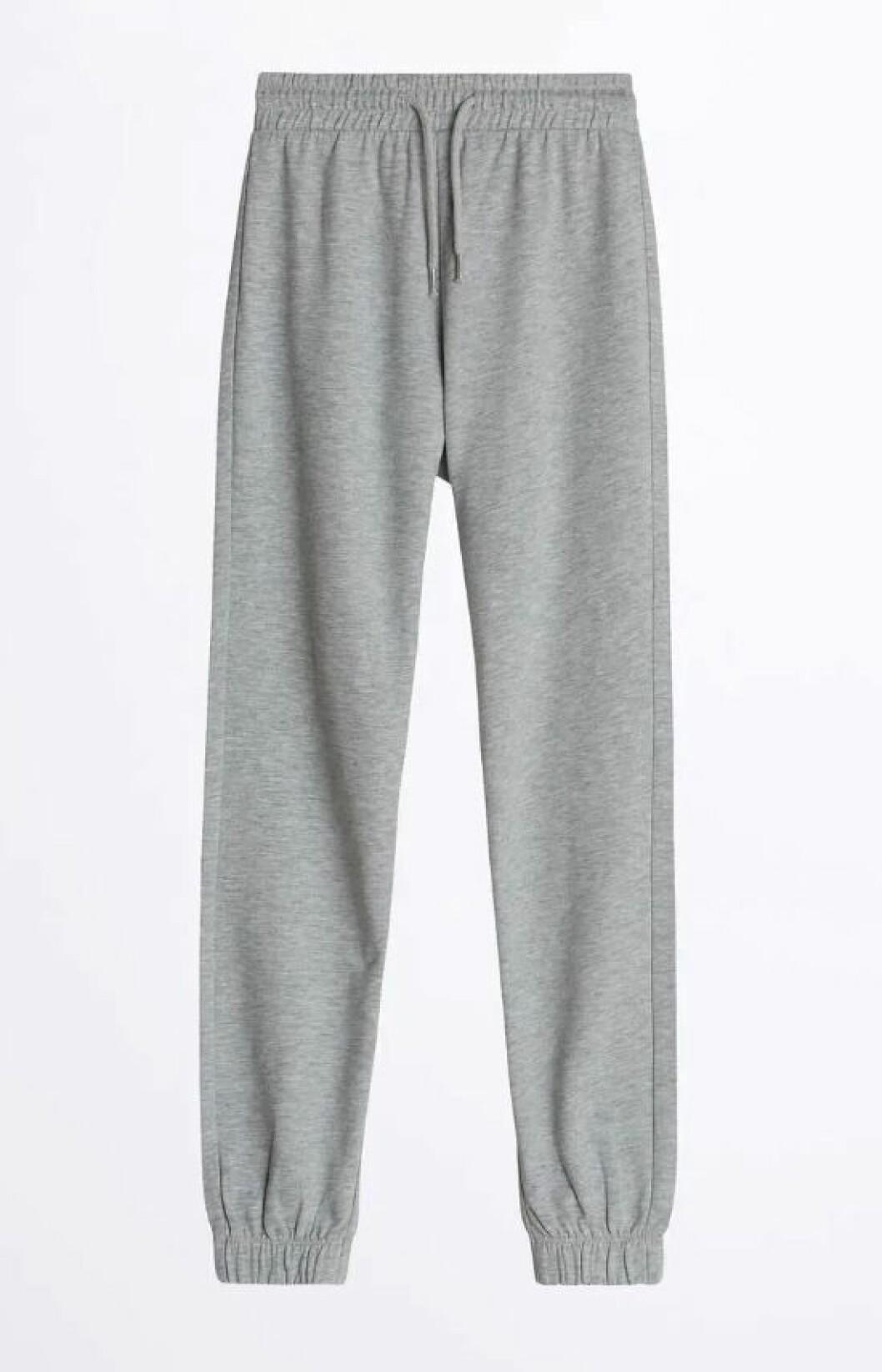 Gina tricot mini –grå sweatpants dam