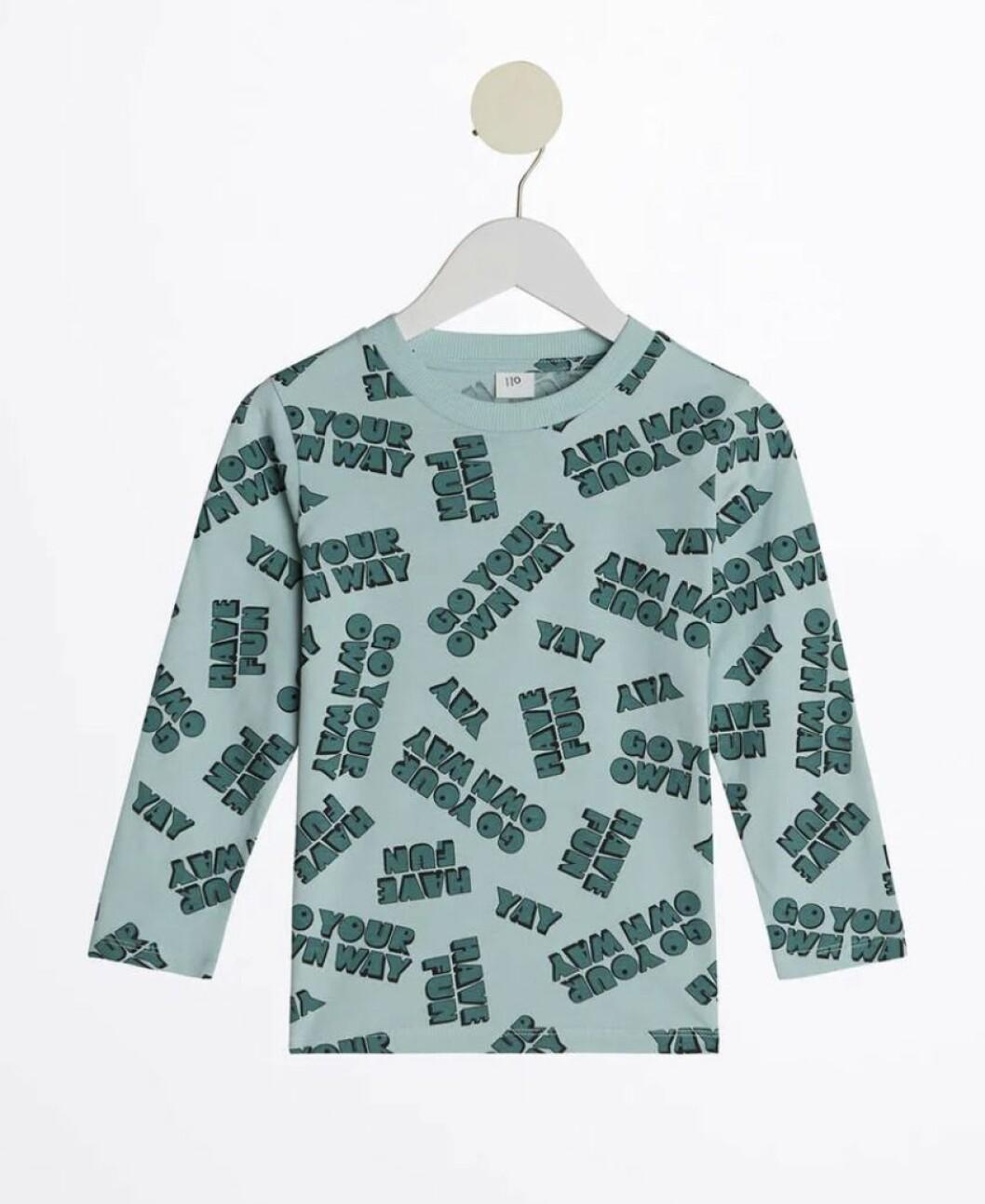 Gina tricot mini –grön tröja