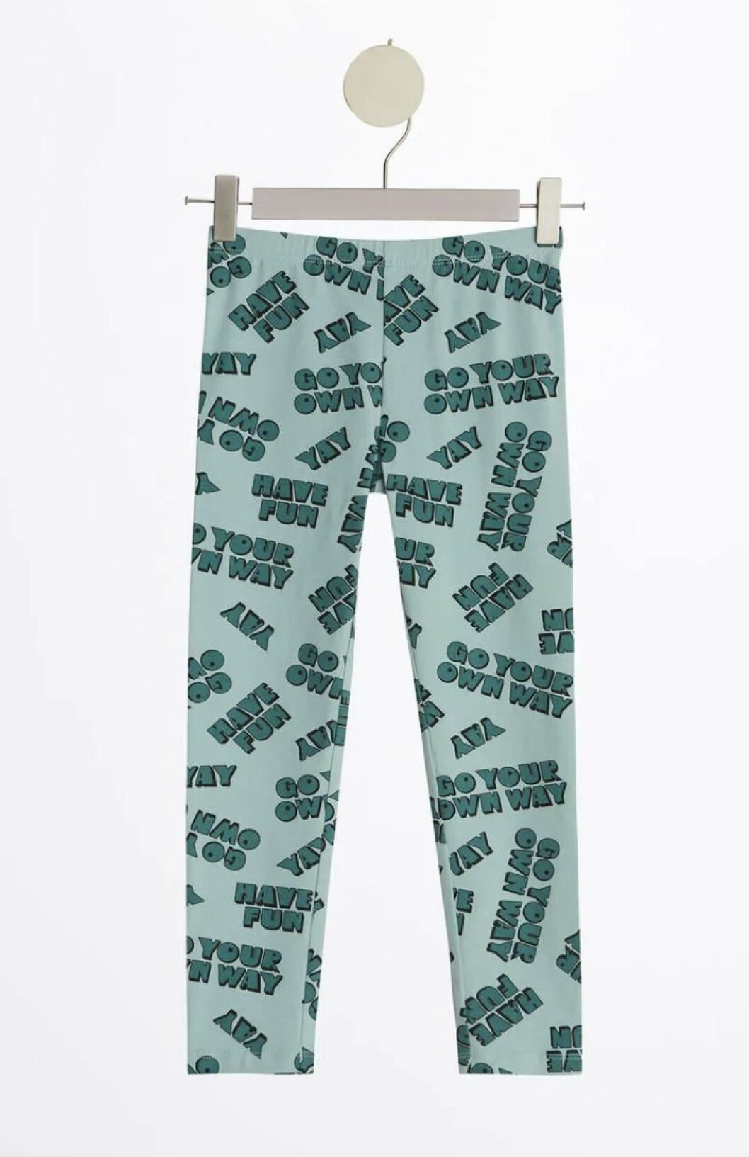 Gina tricot mini – gröna leggings