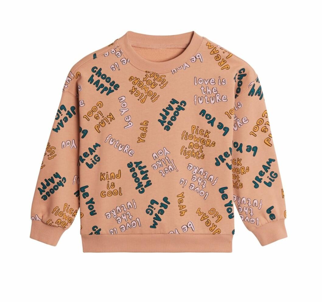 Gina tricot Mini mor- och barnkollektion –mönstrad sweatshirt