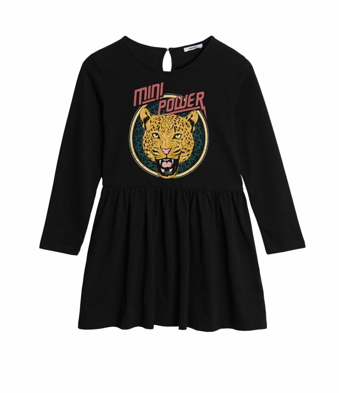 Gina tricot Mini mor- och barnkollektion –svart klänning