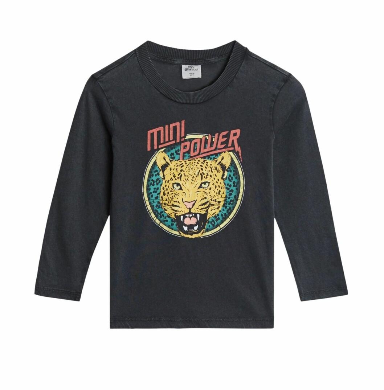 Gina tricot Mini mor- och barnkollektion –grå tröja