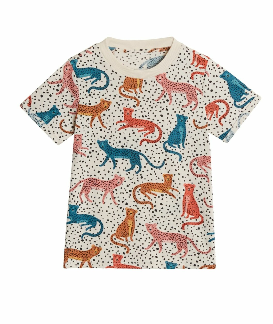 Gina tricot Mini mor- och barnkollektion –mönstrad t-shirt
