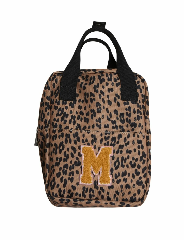 Gina tricot Mini mor- och barnkollektion –leopardmönstrad ryggsäck