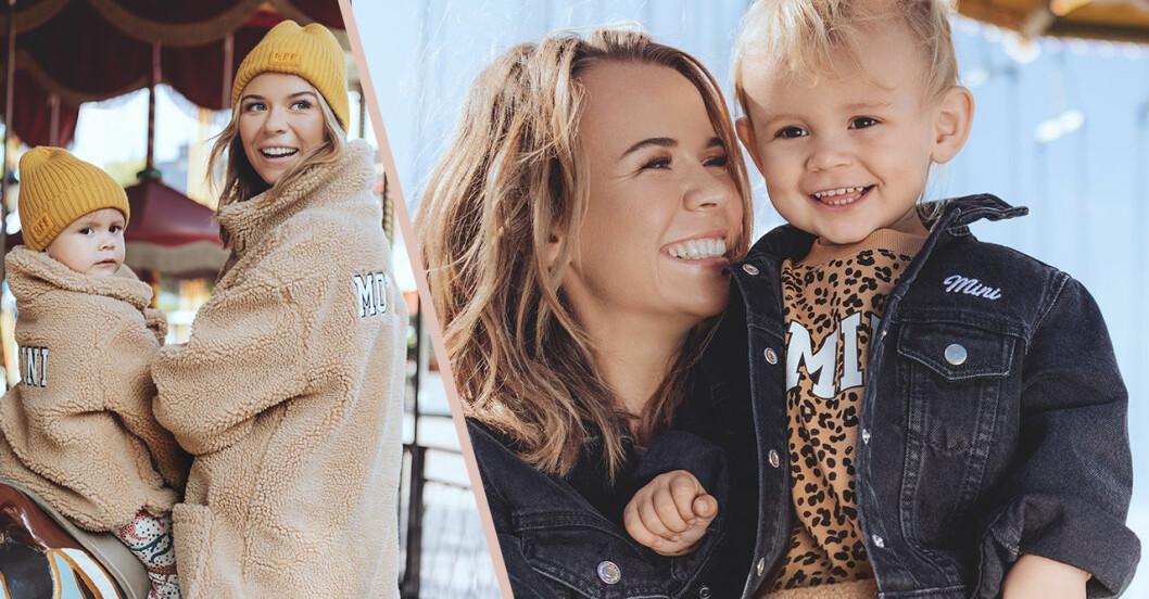Gina tricot släpper ny mor- och barnkollektion – Margaux Dietz frontar