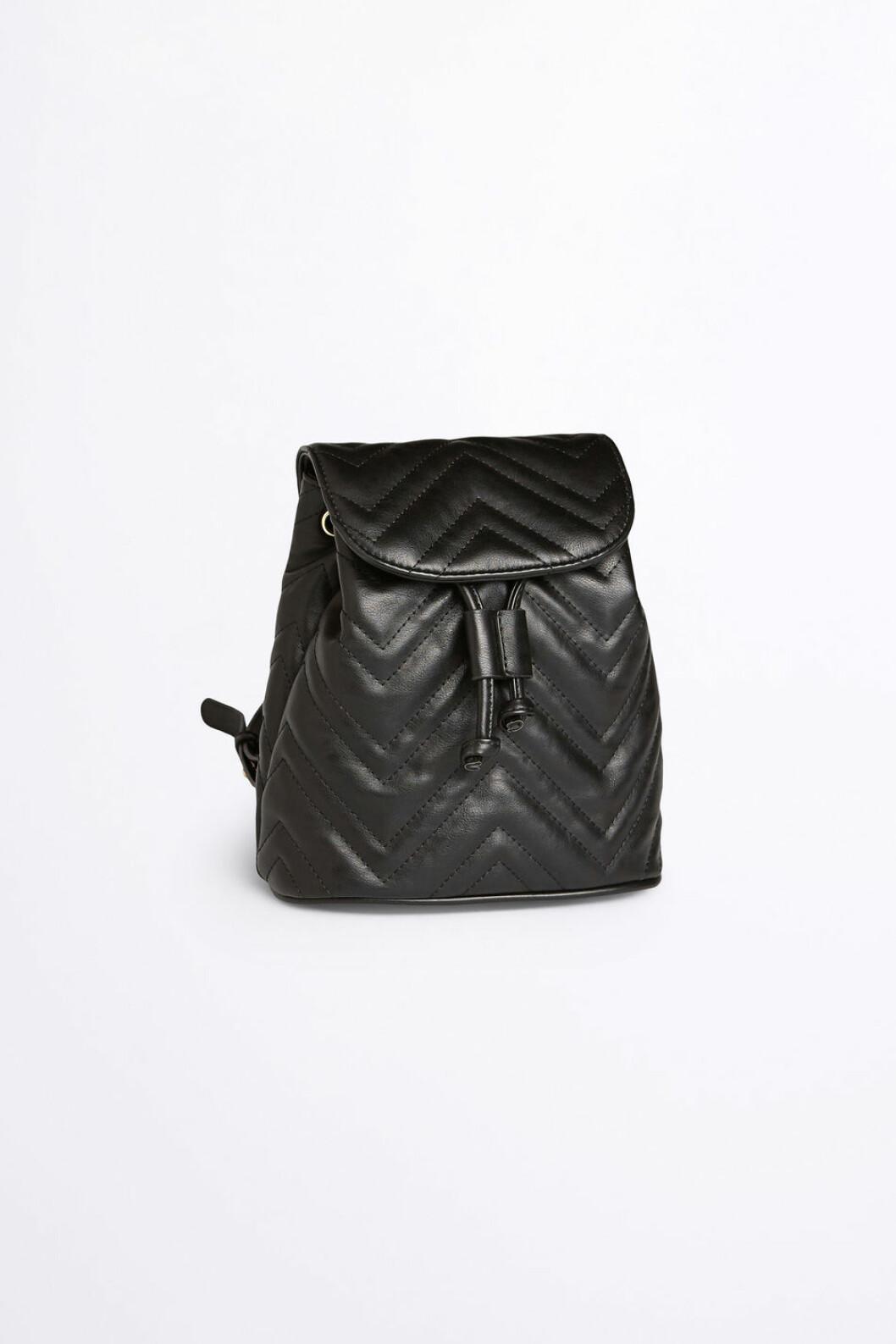 Svart ryggsäck från Gina Tricot