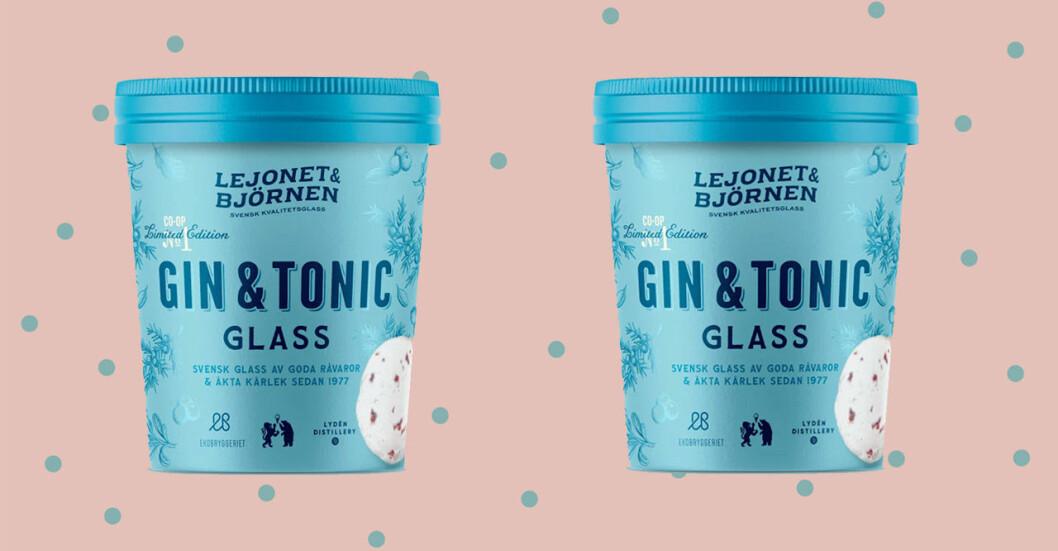 Ny glass med smak av Gin & Tonic