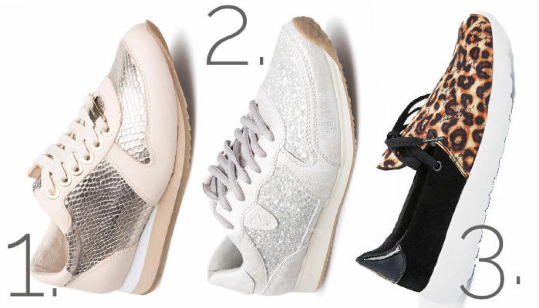 glittriga sneakers