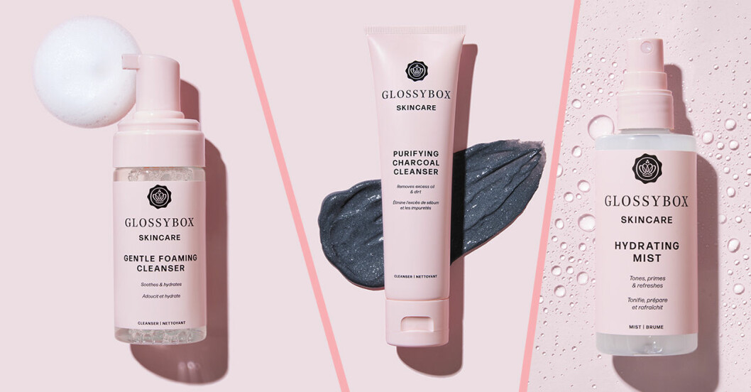 Glossybox lanserar skönhetsserien Glossybox Skincare