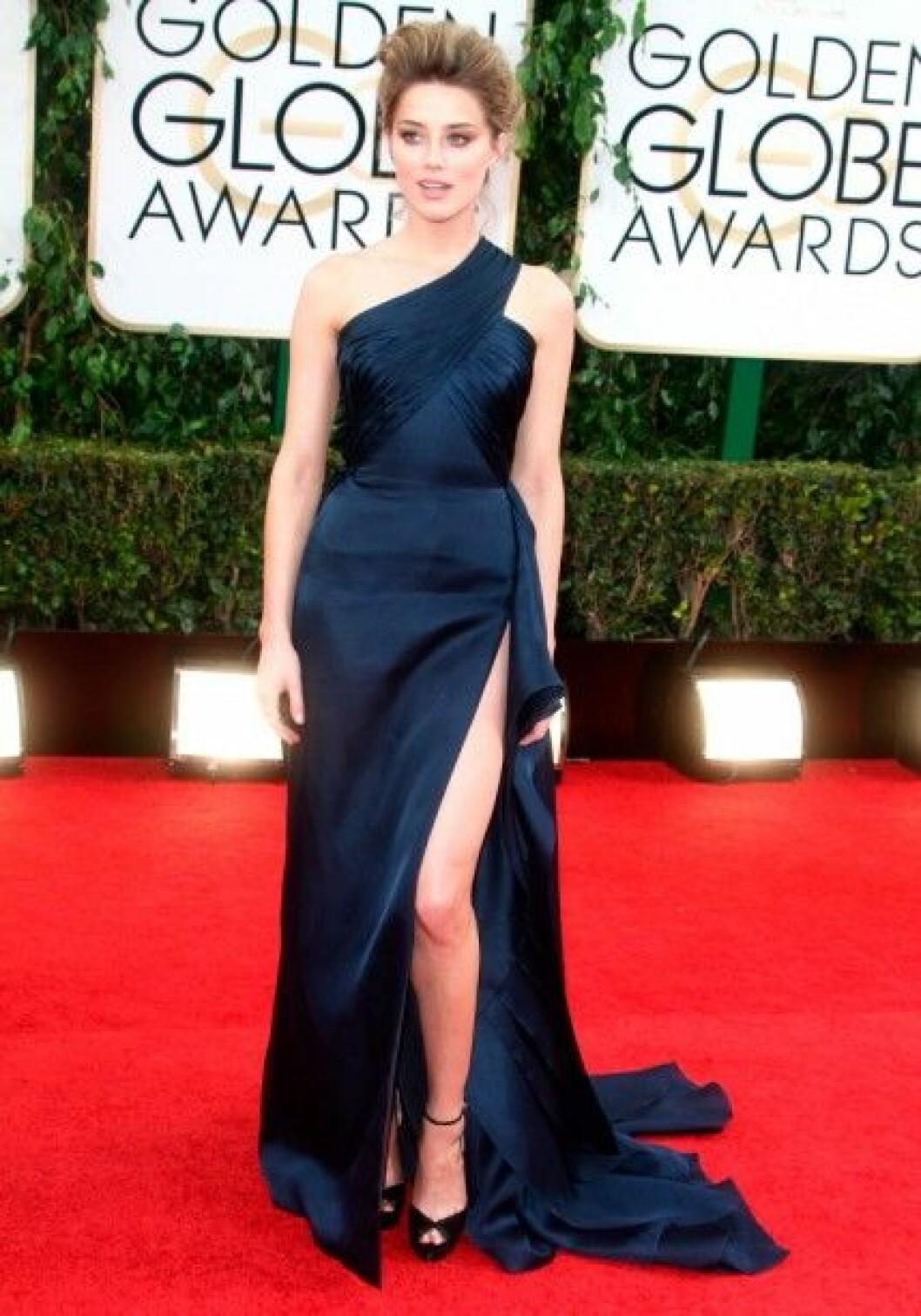 Amber Heard i Atelier Versace.
