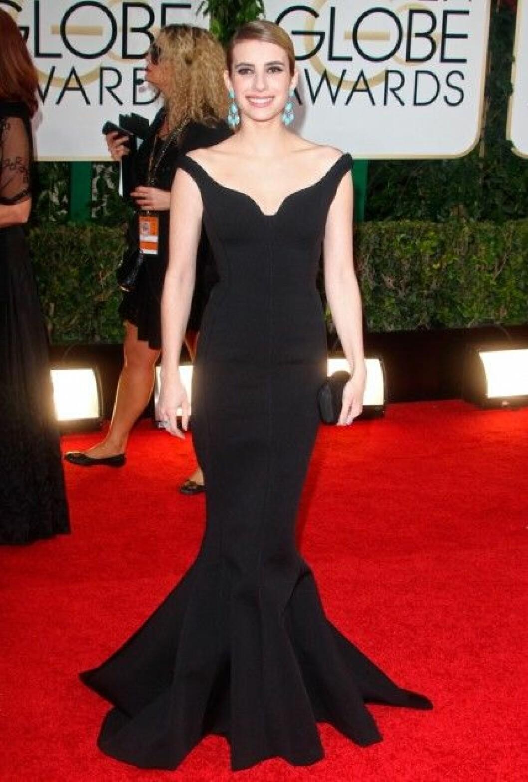 Emma Roberts i Lanvin.
