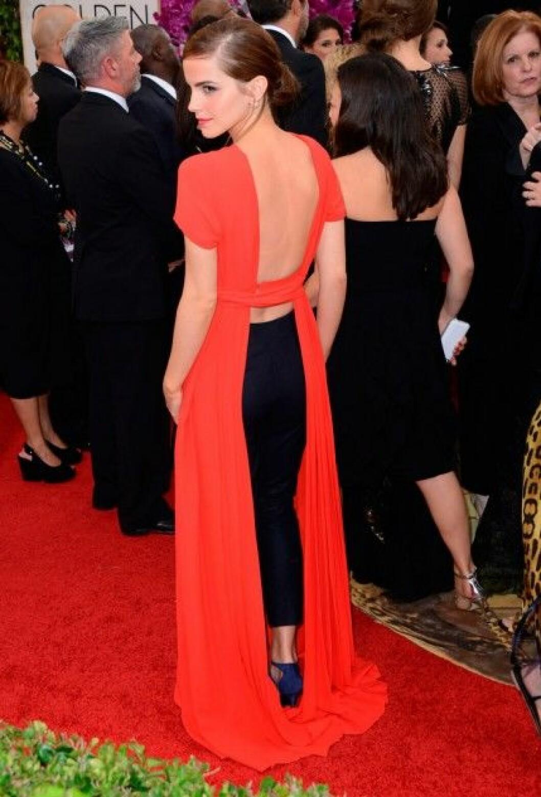 Emma Watson i Christian Dior Couture.