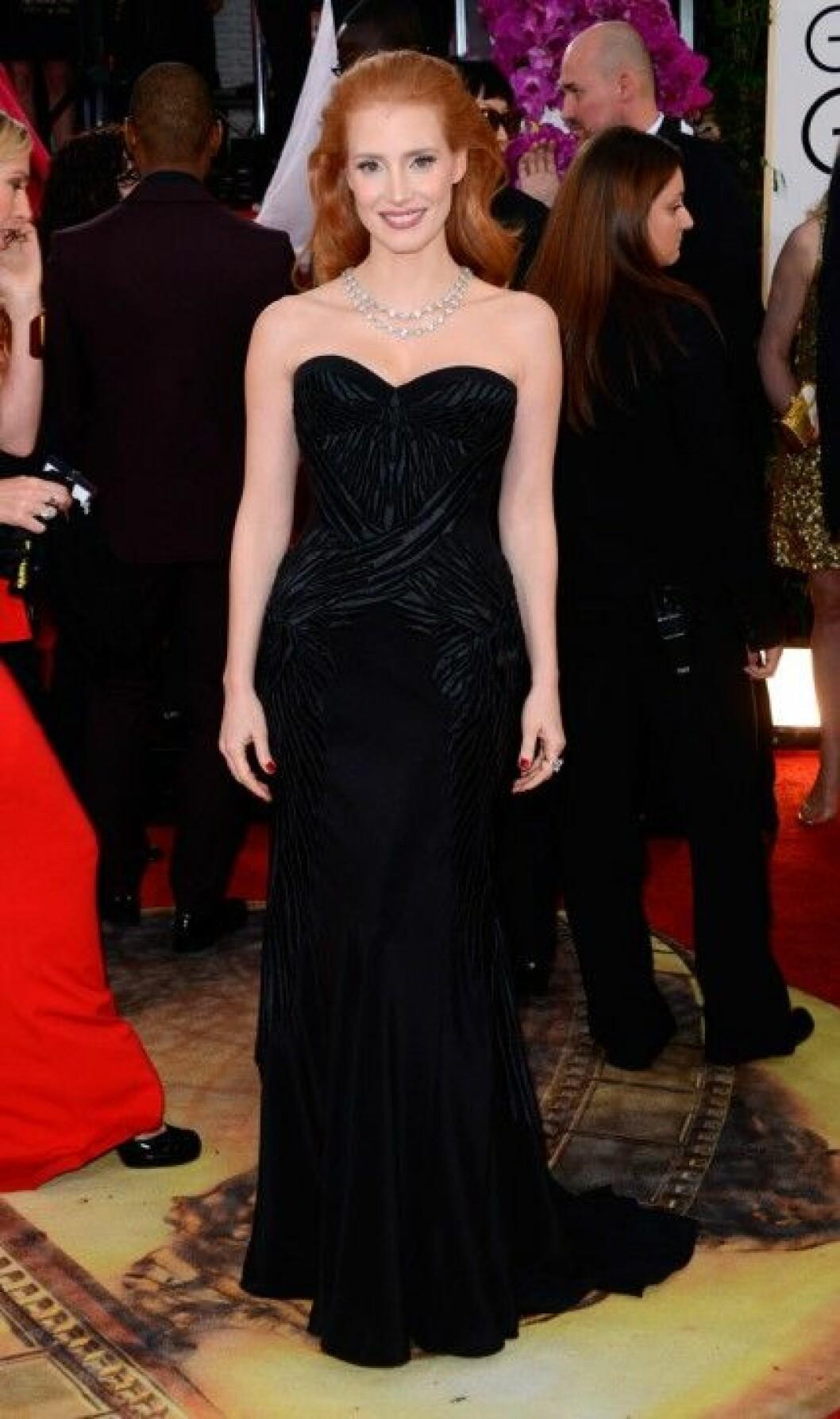 Jessica Chastain i Givenchy.