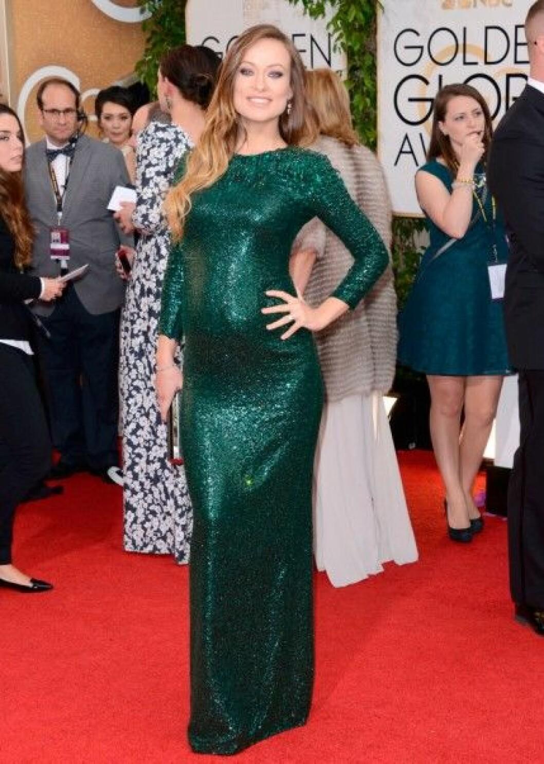 Olivia Wilde in Gucci Première.