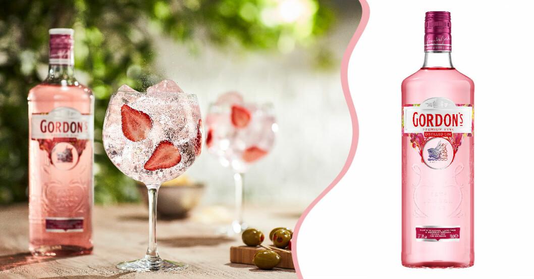 Gordon's Pink Distilled Gin kommer till Systembolaget