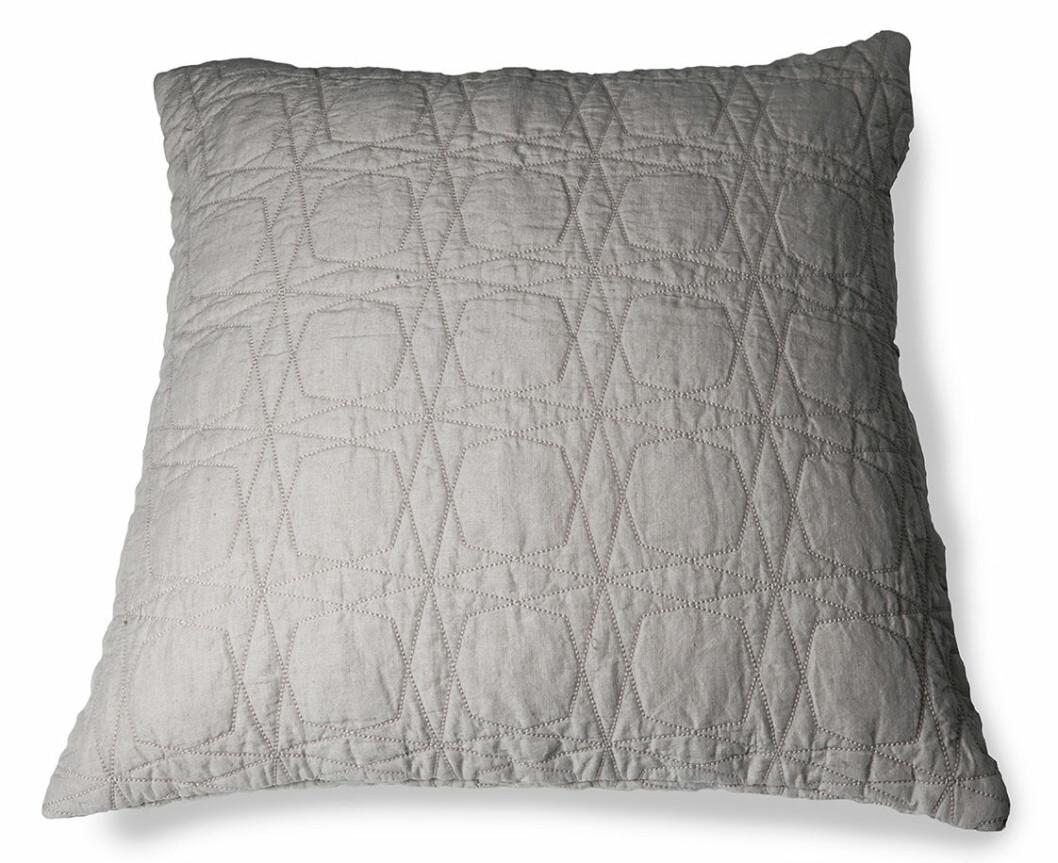 grå kudde grafiskt mönster