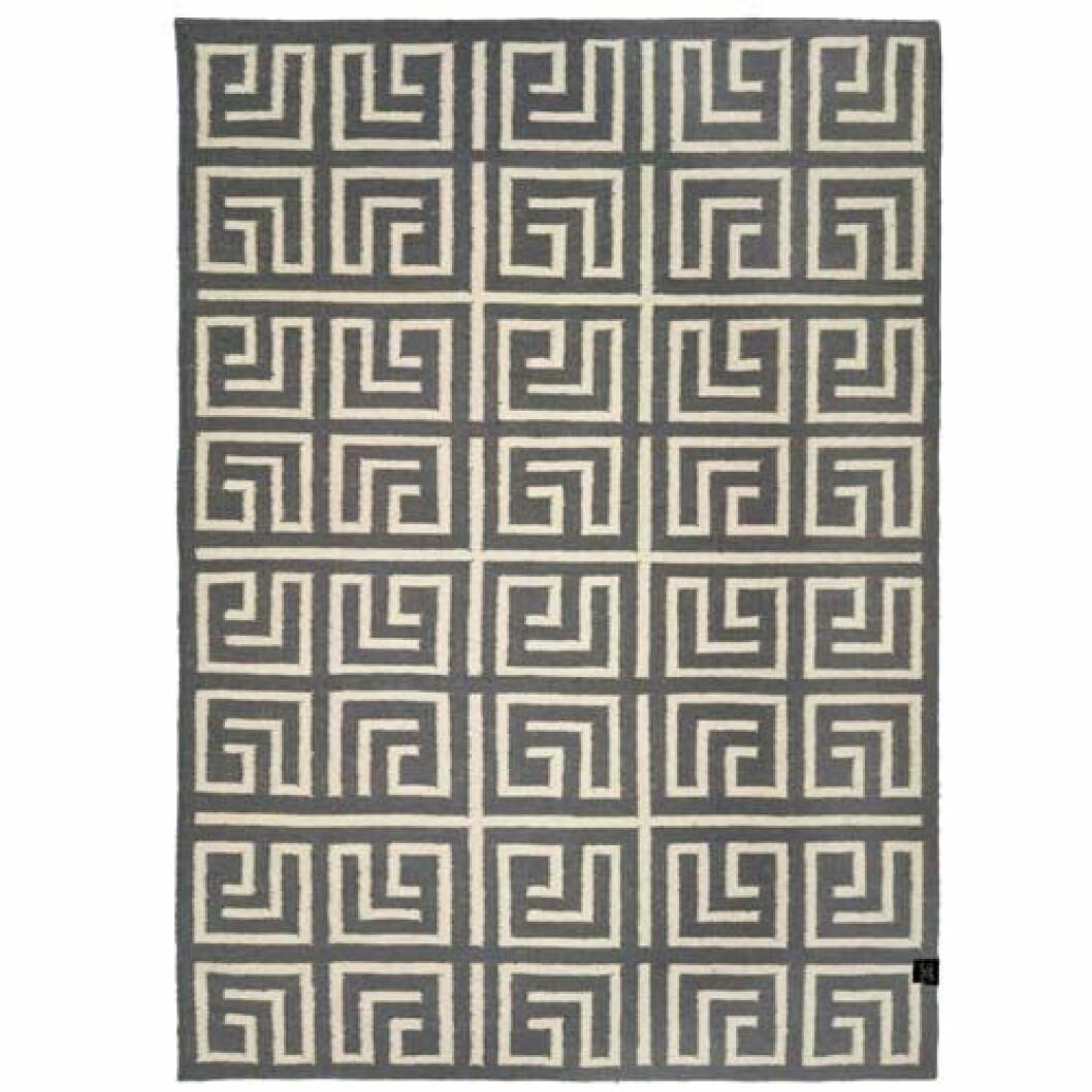grå matta mönster