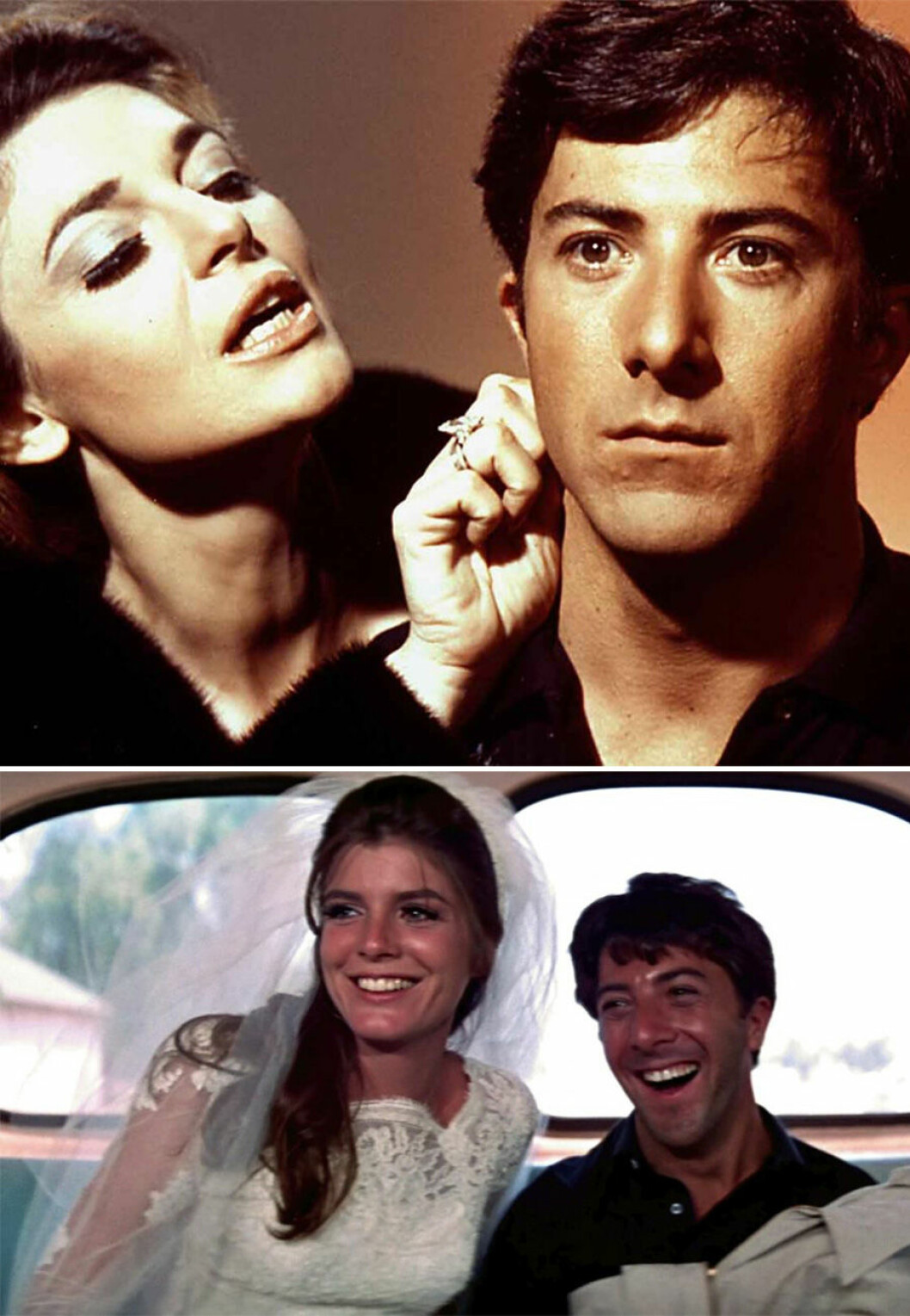 Dustin Hoffman i The Graduate