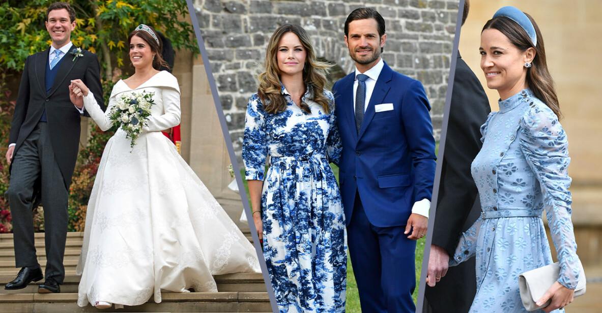 pippa middleton, prinsessan Eugenie, prinsessan sofia och prins carl philip väntar barn 2021