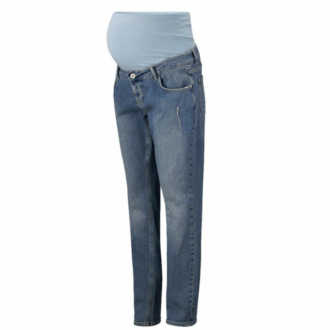 Boyfriend jeans för gravid