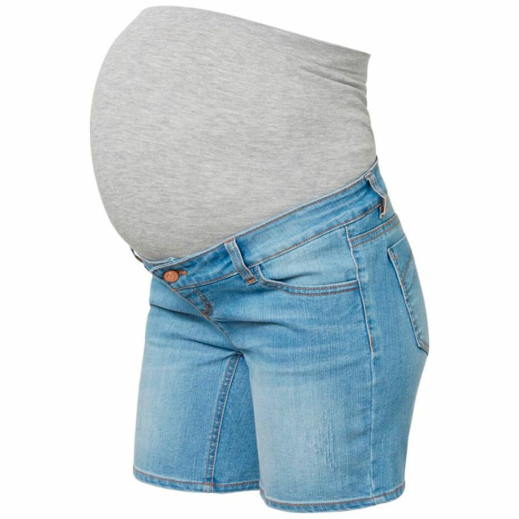 Jeansshorts för gravida