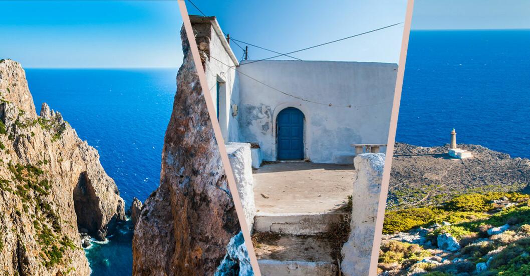 Antikythera i Grekland.
