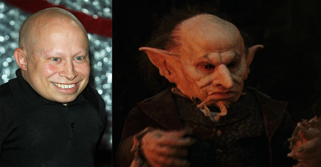 Verne Troyer som Griphook