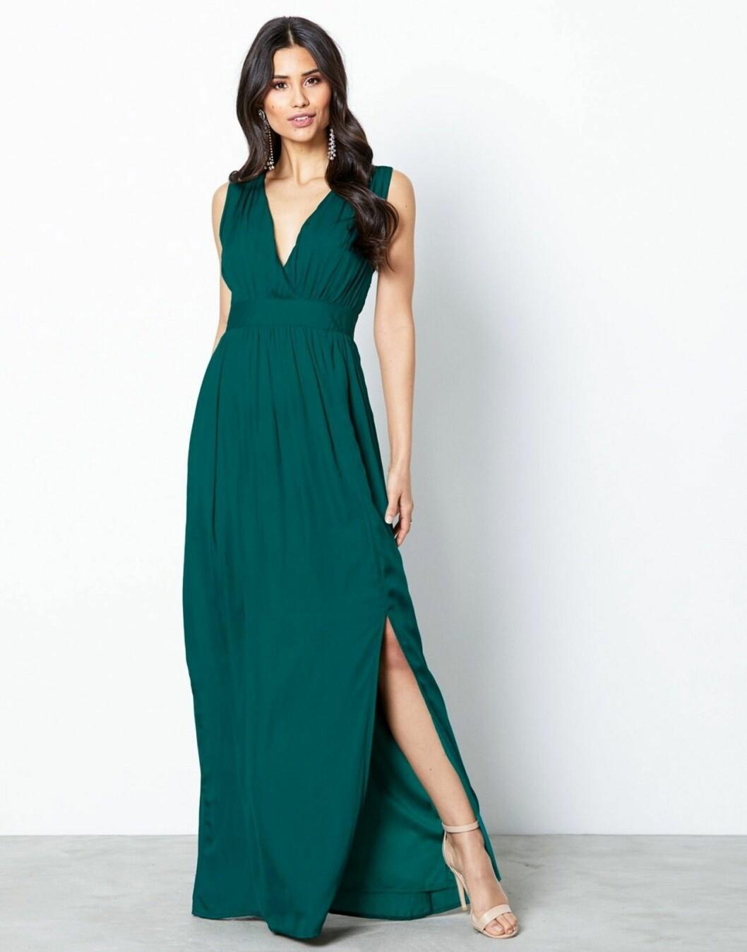 Grön balklänning till sommaren 2019