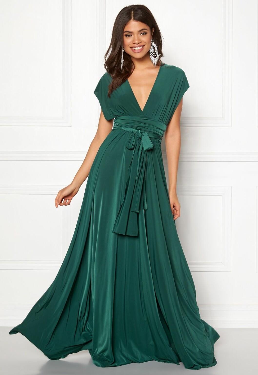 Grön balklänning till balen 2019