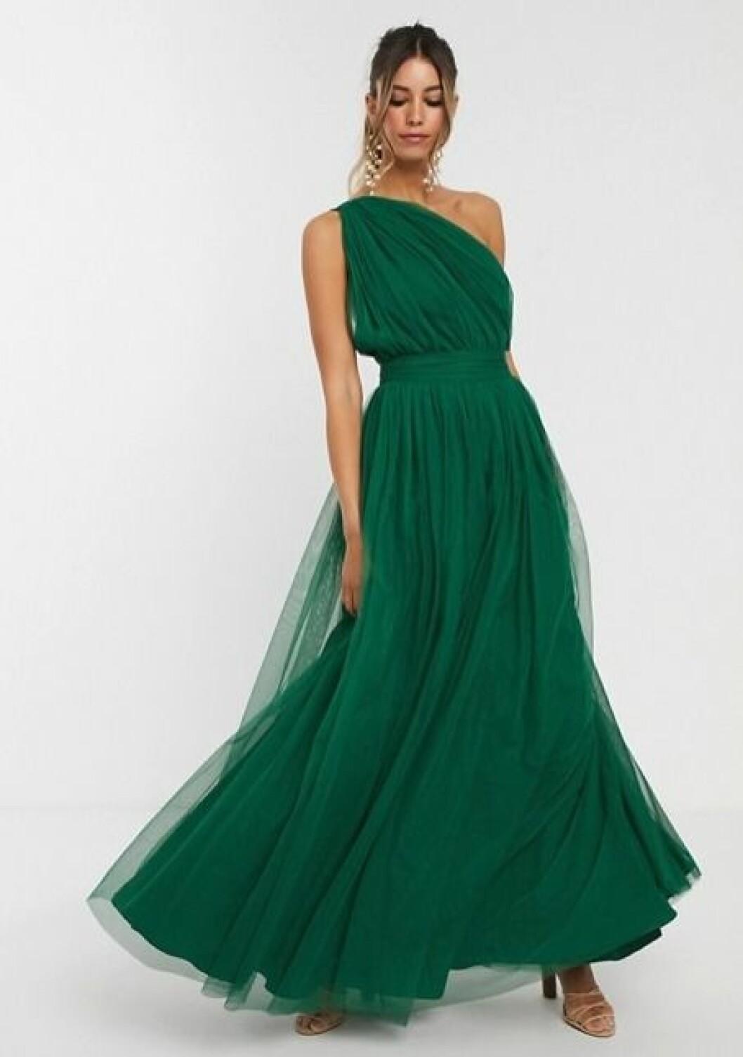Grön billig balklänning till 2020