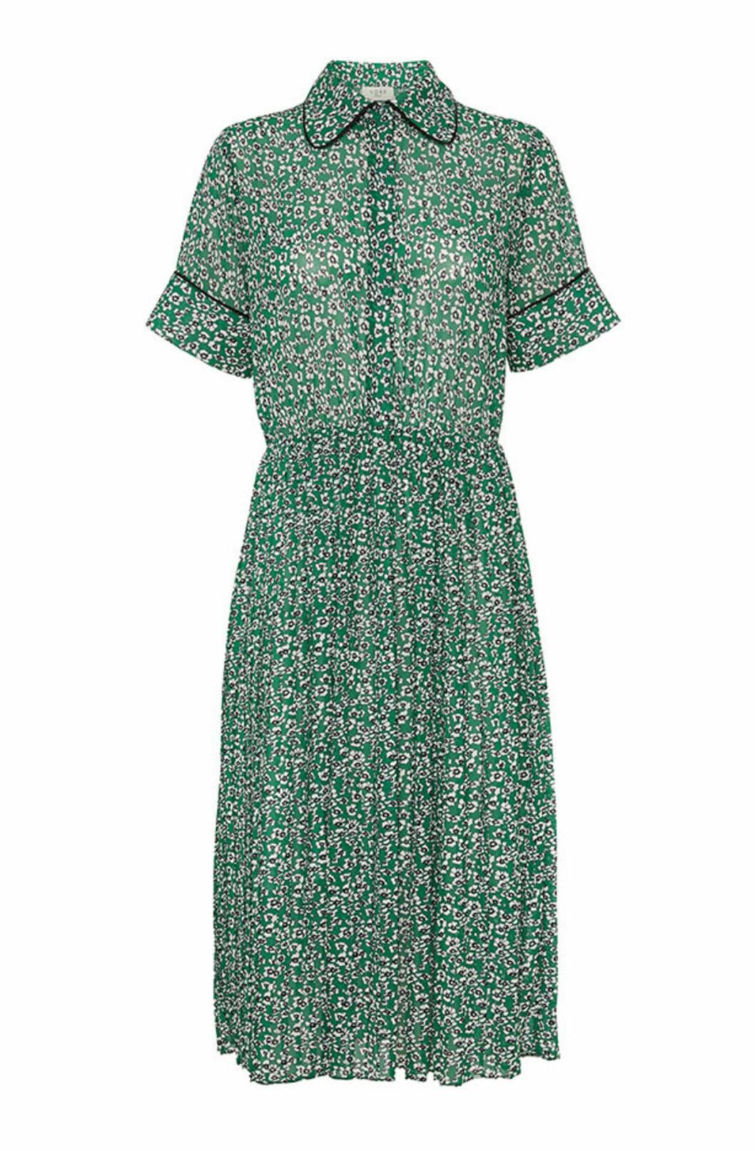 Grön klänning till hösten 2019