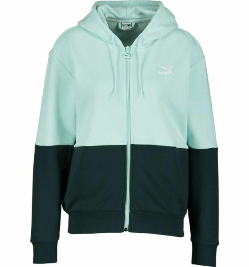 Grön hoodie puma x bianca