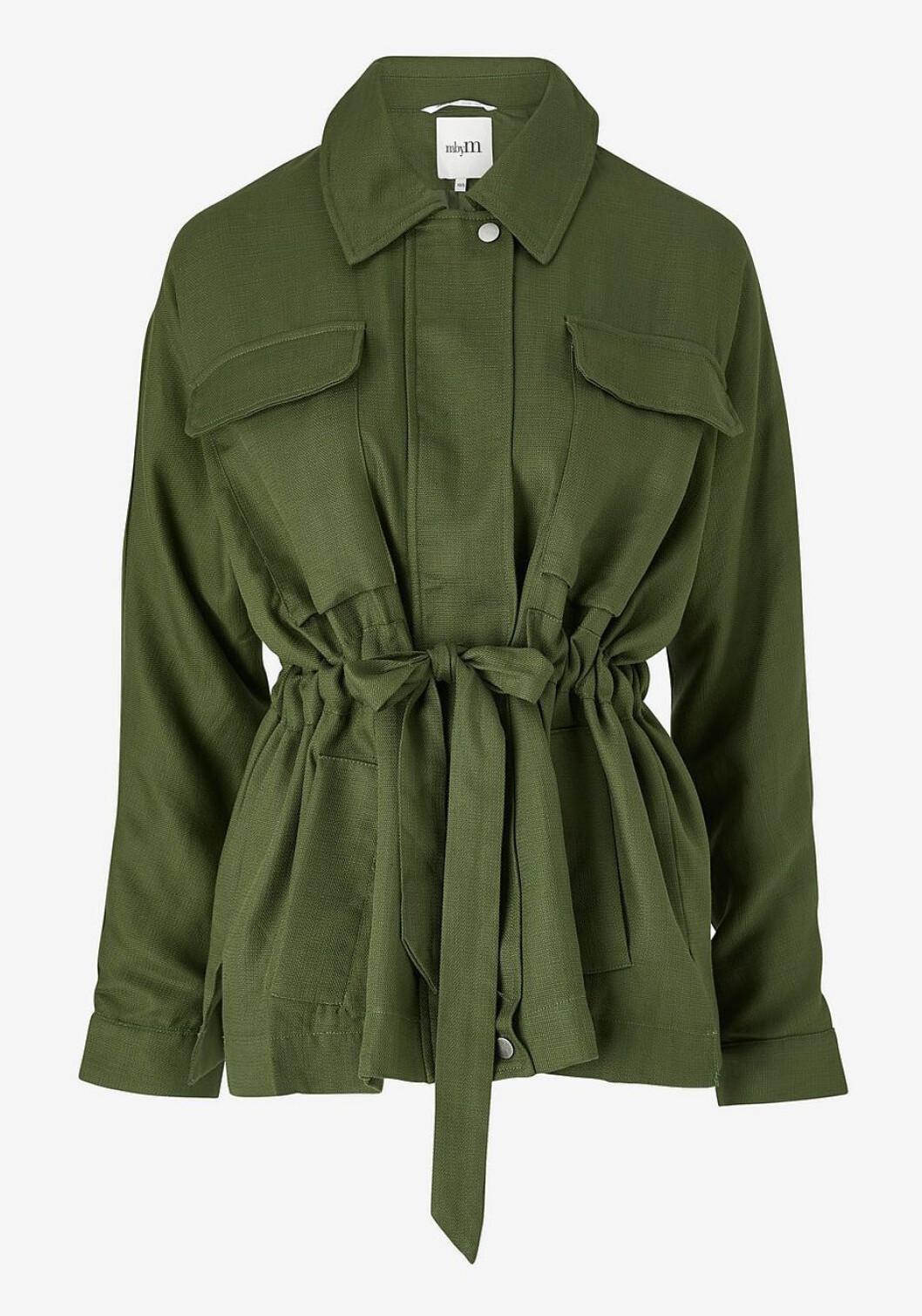 Grön höstjacka för dam till 2019