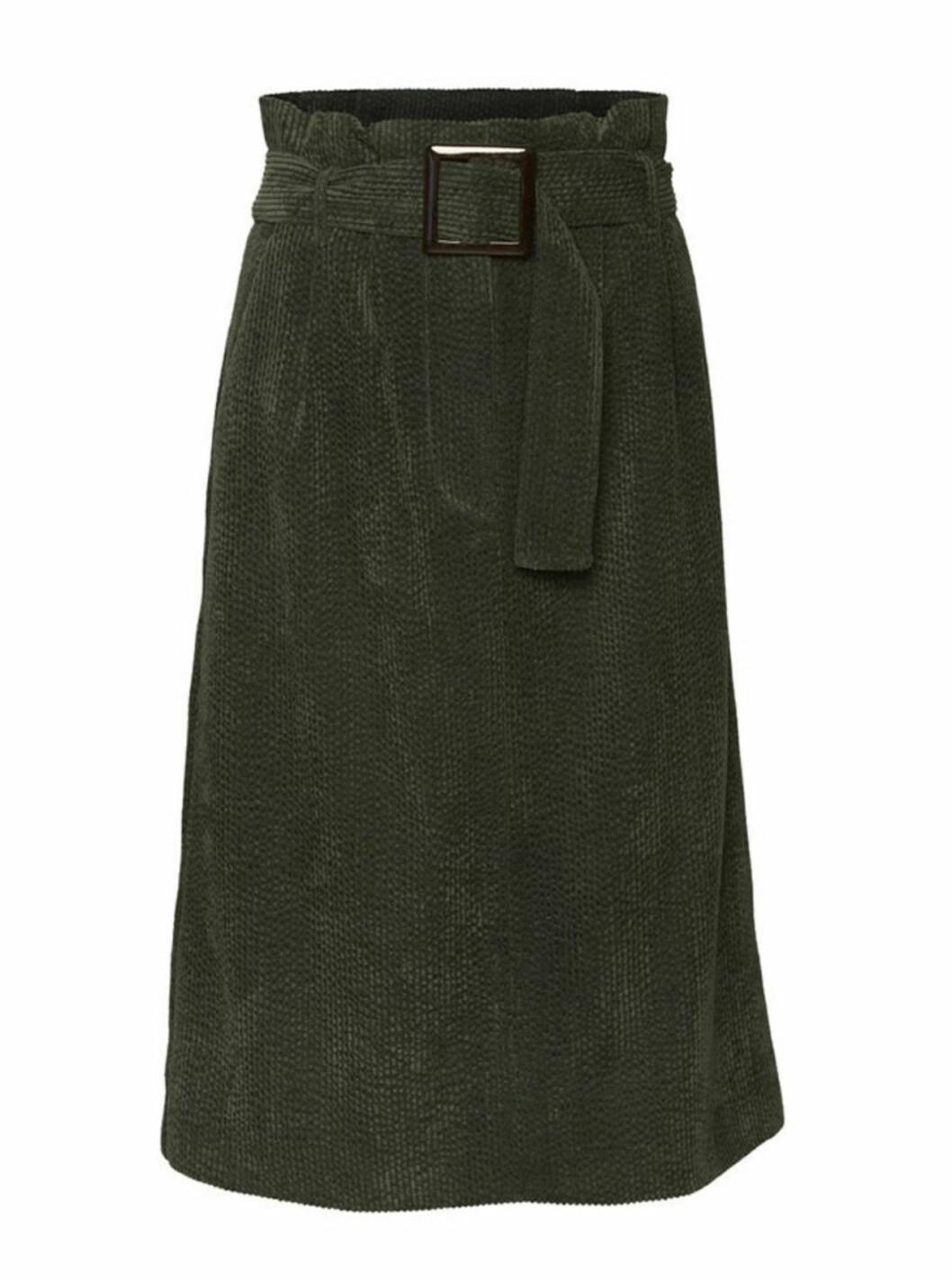 Grön kjol till hösten 2018