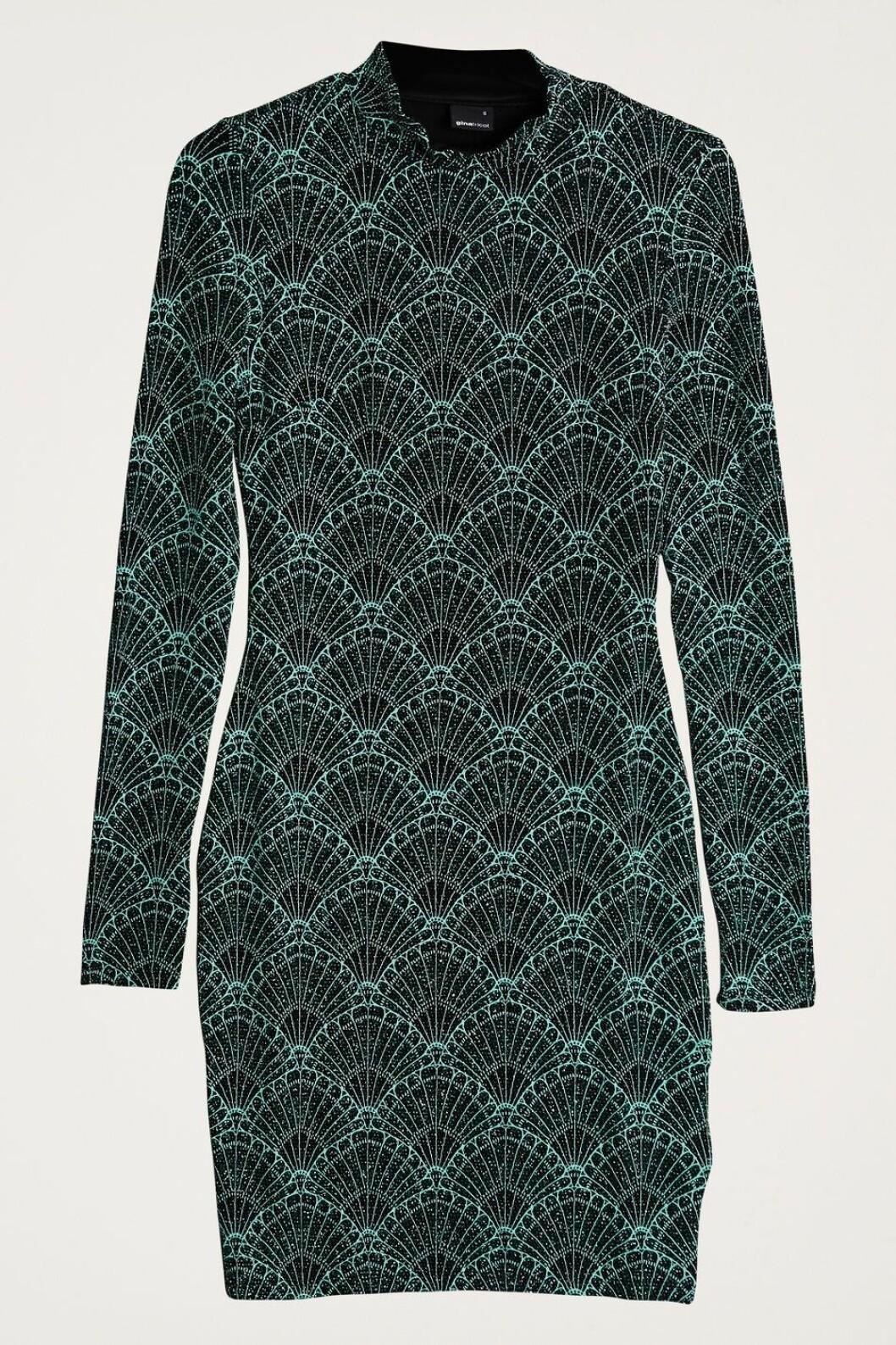 Grön klänning till julfesten