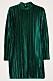 Grön sammetsklänning till julafton