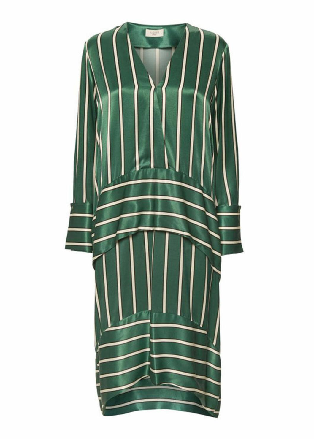 Grön klänning till julafton