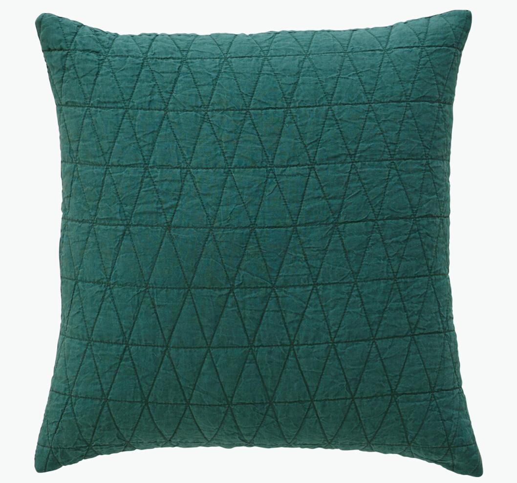 grön kudde mönster