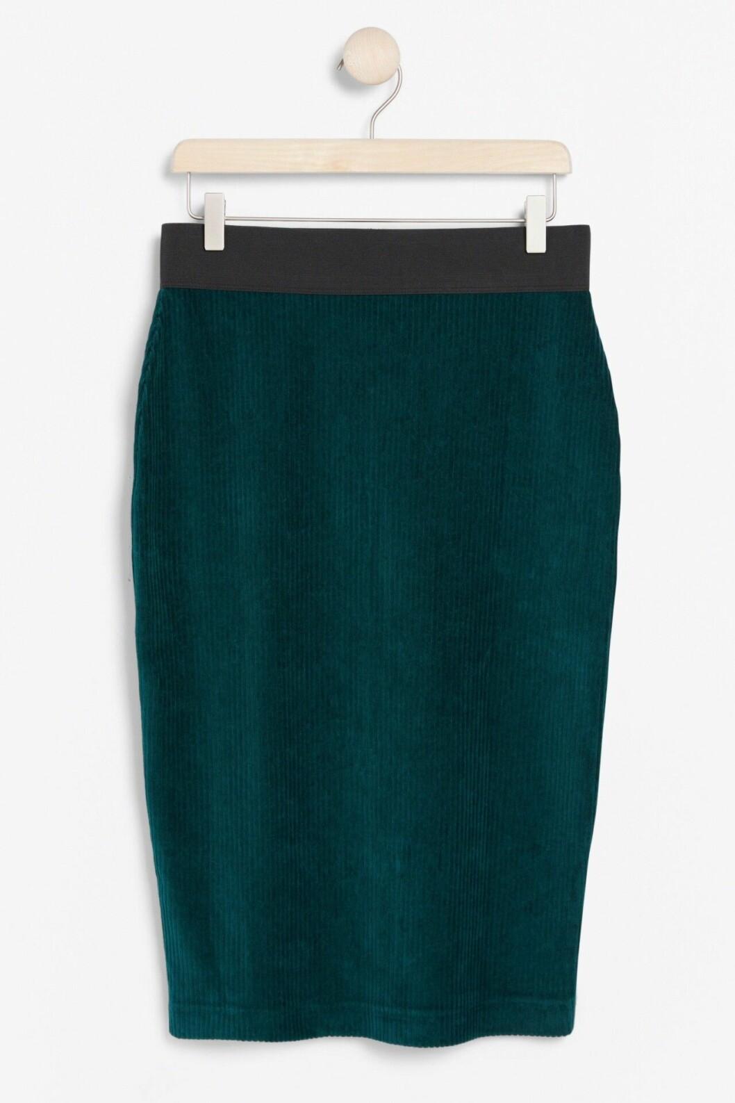 Matchande set: Grön kjol i manchester